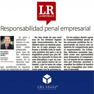 Responsabilidad penal empresarial