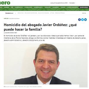 Homicidio del abogado Javier Ordóñez: ¿qué puede hacer la familia?